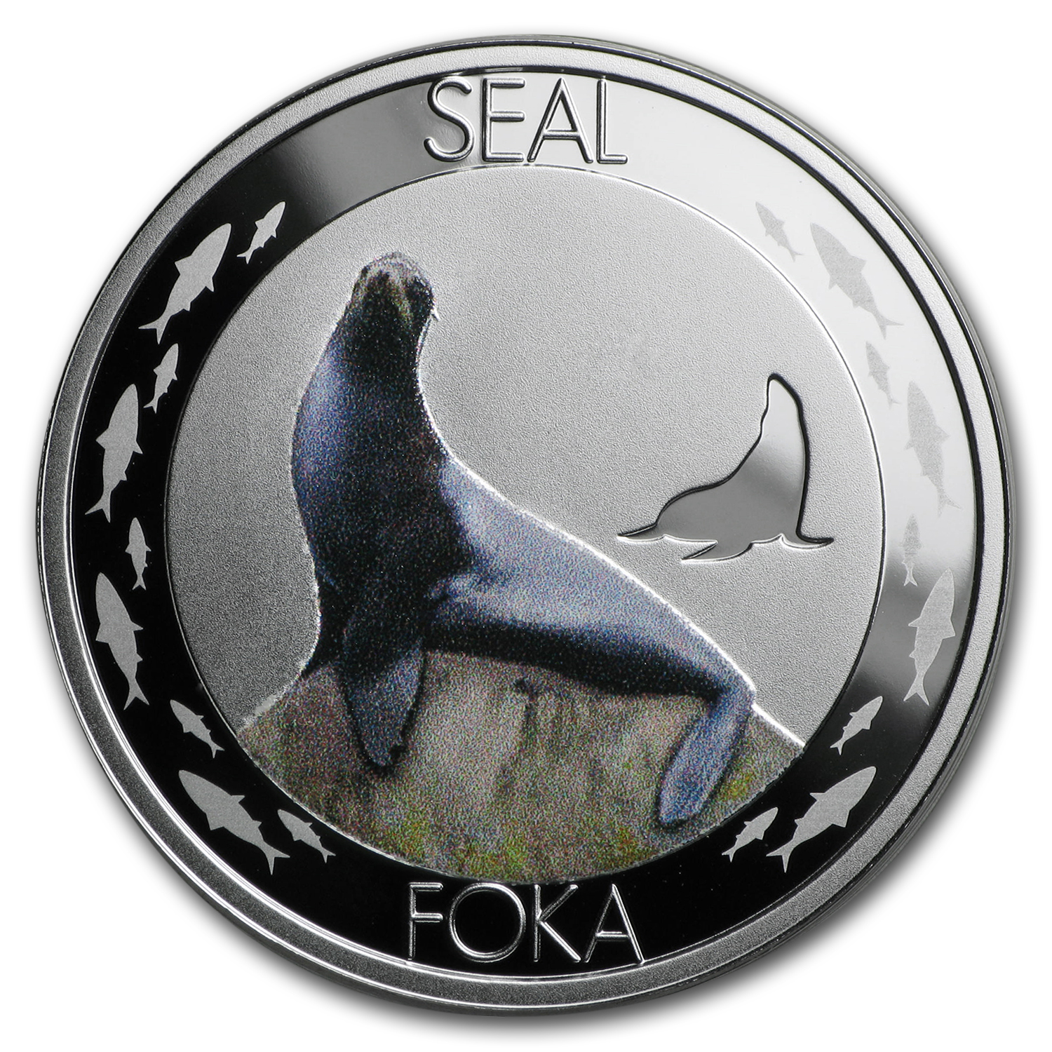2015 Niue Silver Symbols of Nature Seal Proof