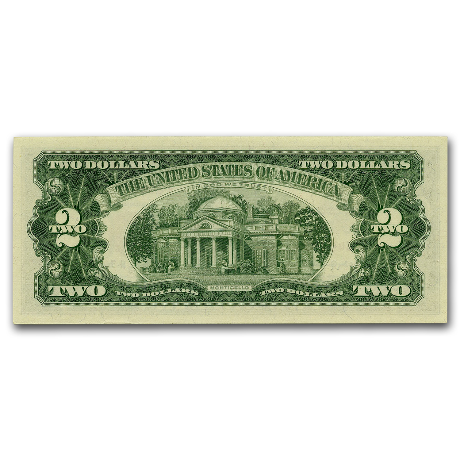 1963-A* $2.00 U.S. Notes Red Seal CU-64 PPQ PCGS (STAR NOTE)