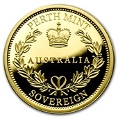 2016 Australia Gold Proof Sovereign