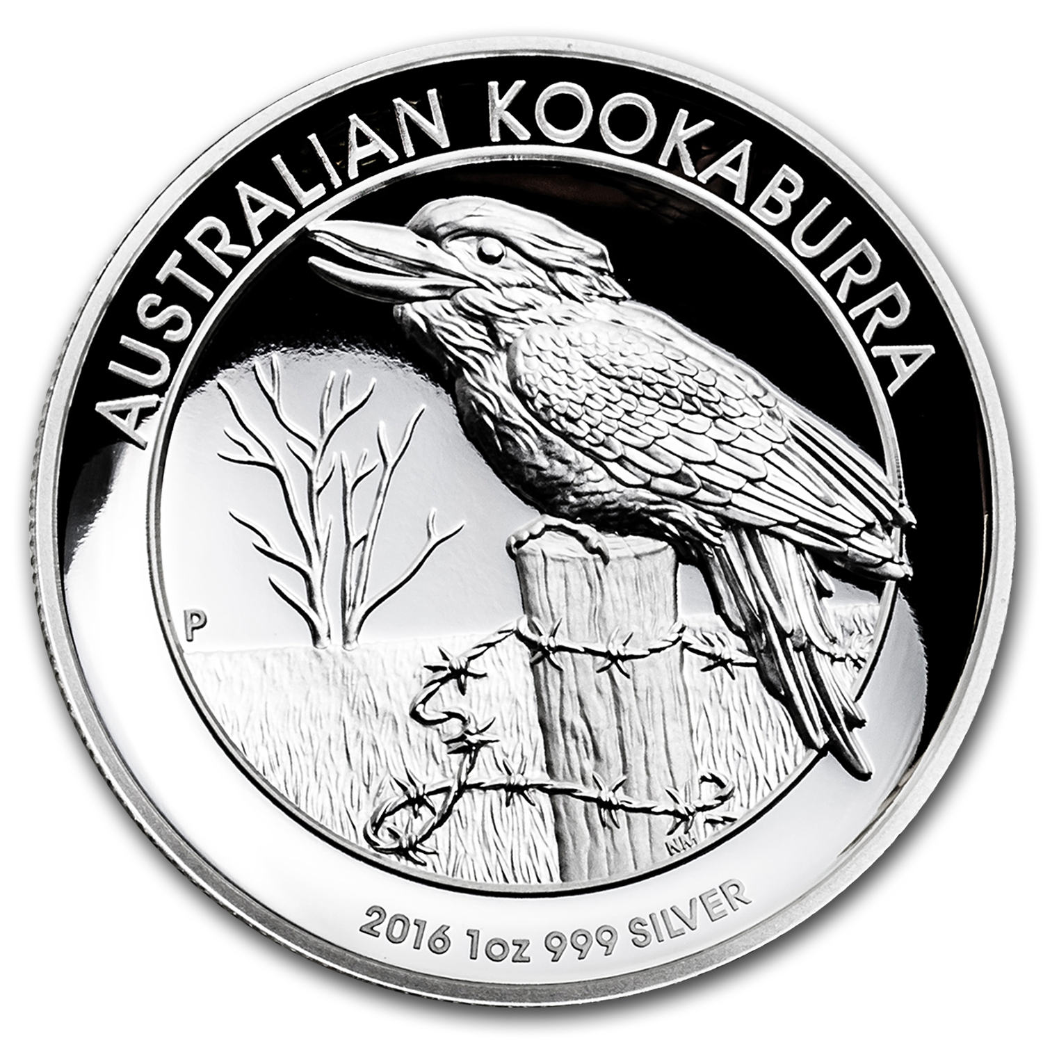 2016 Australia 1 oz Silver Kookaburra Proof (High Relief)