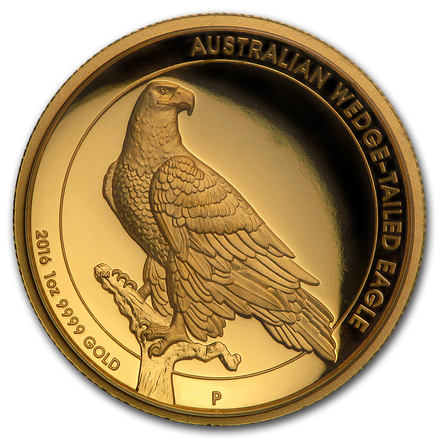2016 Australia 1 Oz Gold Proof Wedge Tailed Eagle High