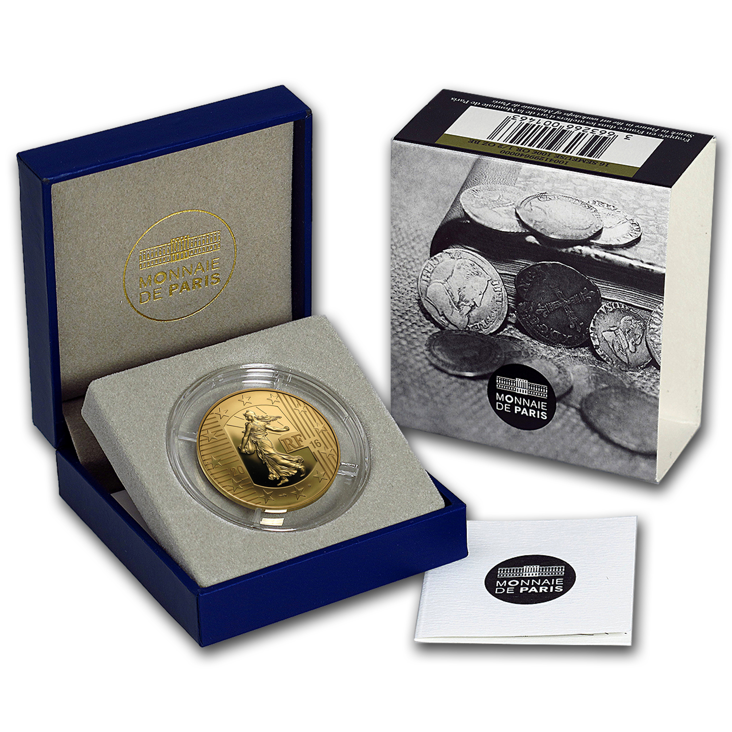 2016 1/2 oz Proof Gold The Sower (The Teston)