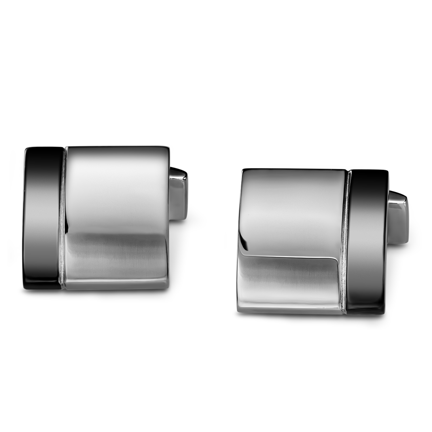 Titanium Square Cuff Links
