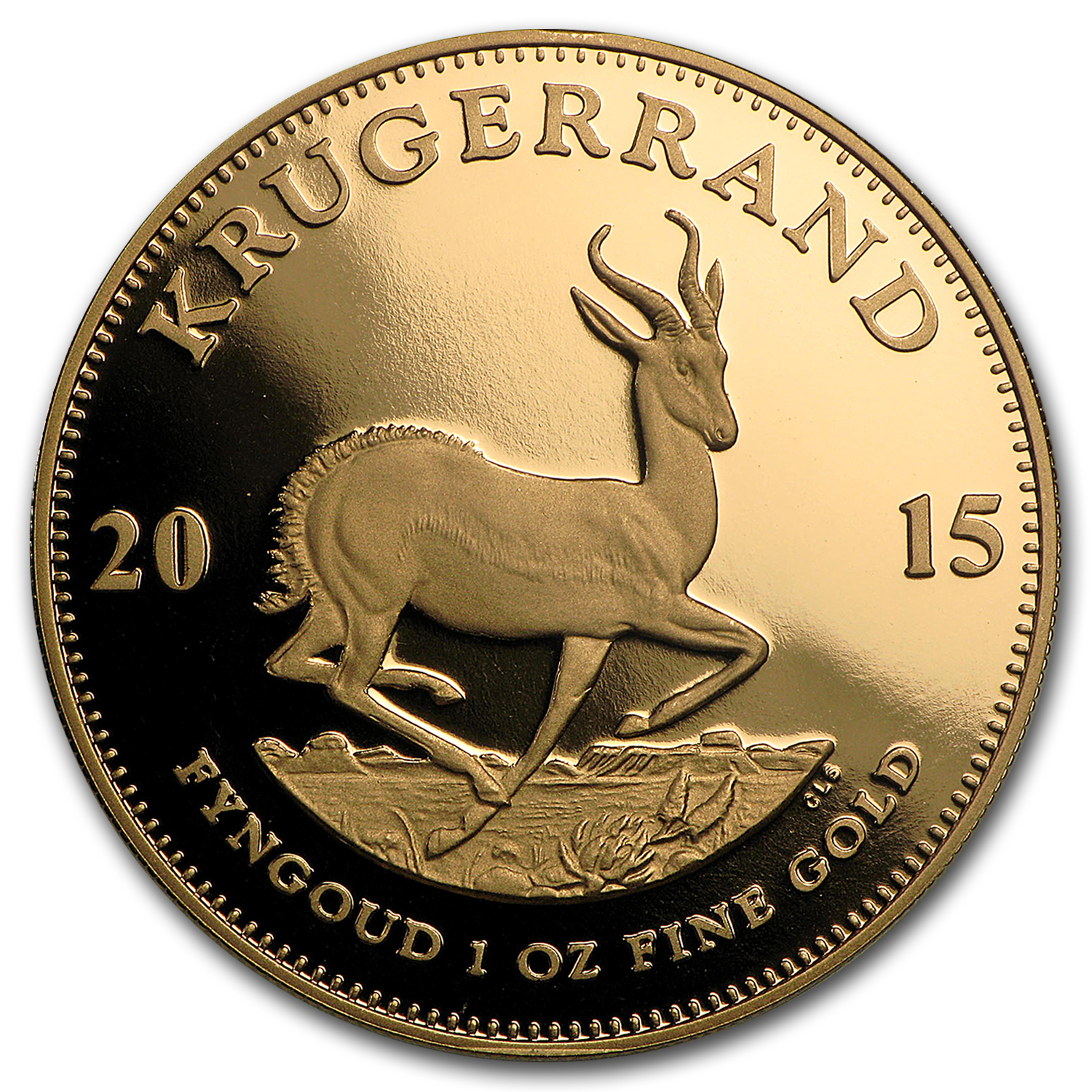 2015 South Africa 1 oz Gold Krugerrand Proof