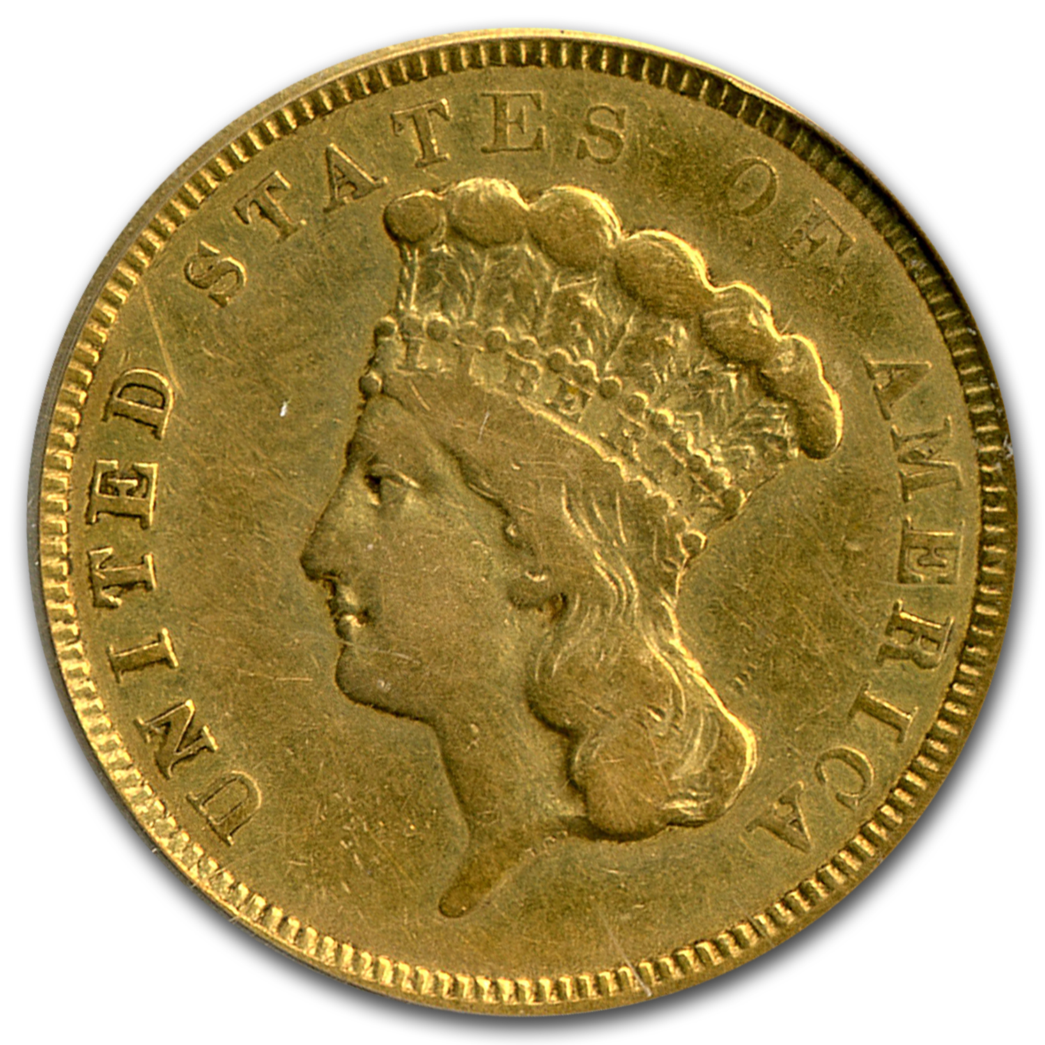 1854-O $3 Gold Princess VF-20 PCGS