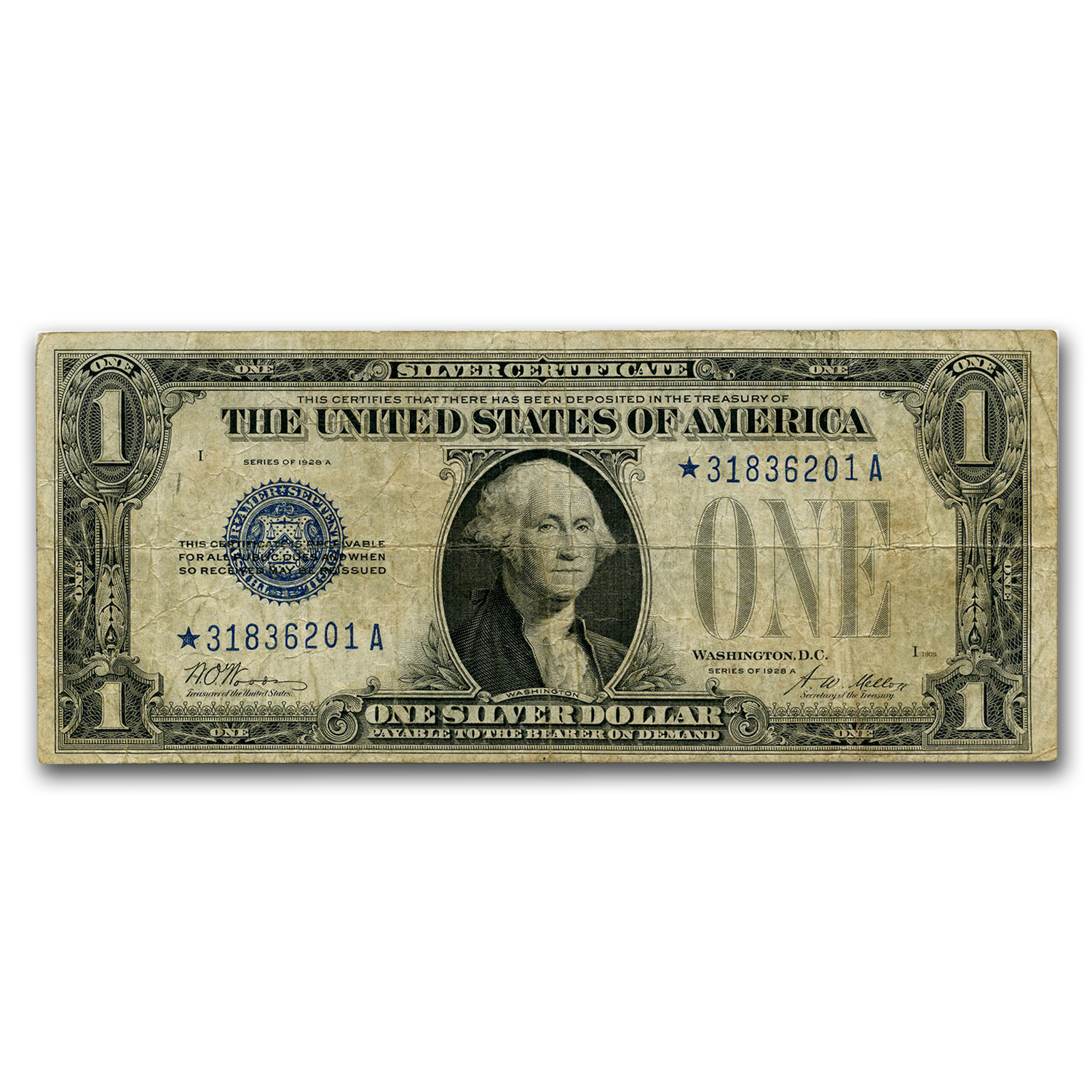 1928-1928-B* $1.00 Silver Certificates VG (Star Note)