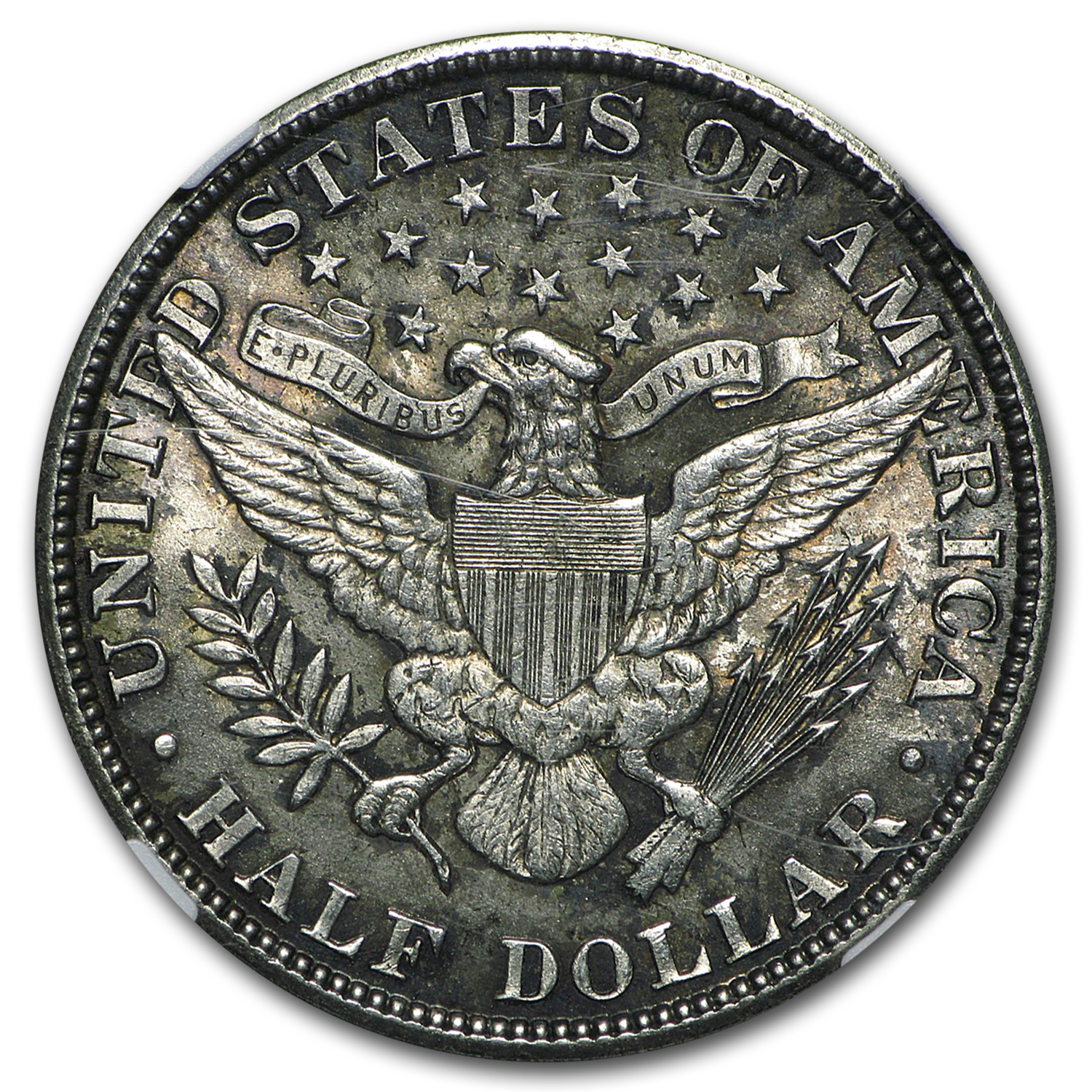 1912 Barber Half Dollar MS-62 NGC