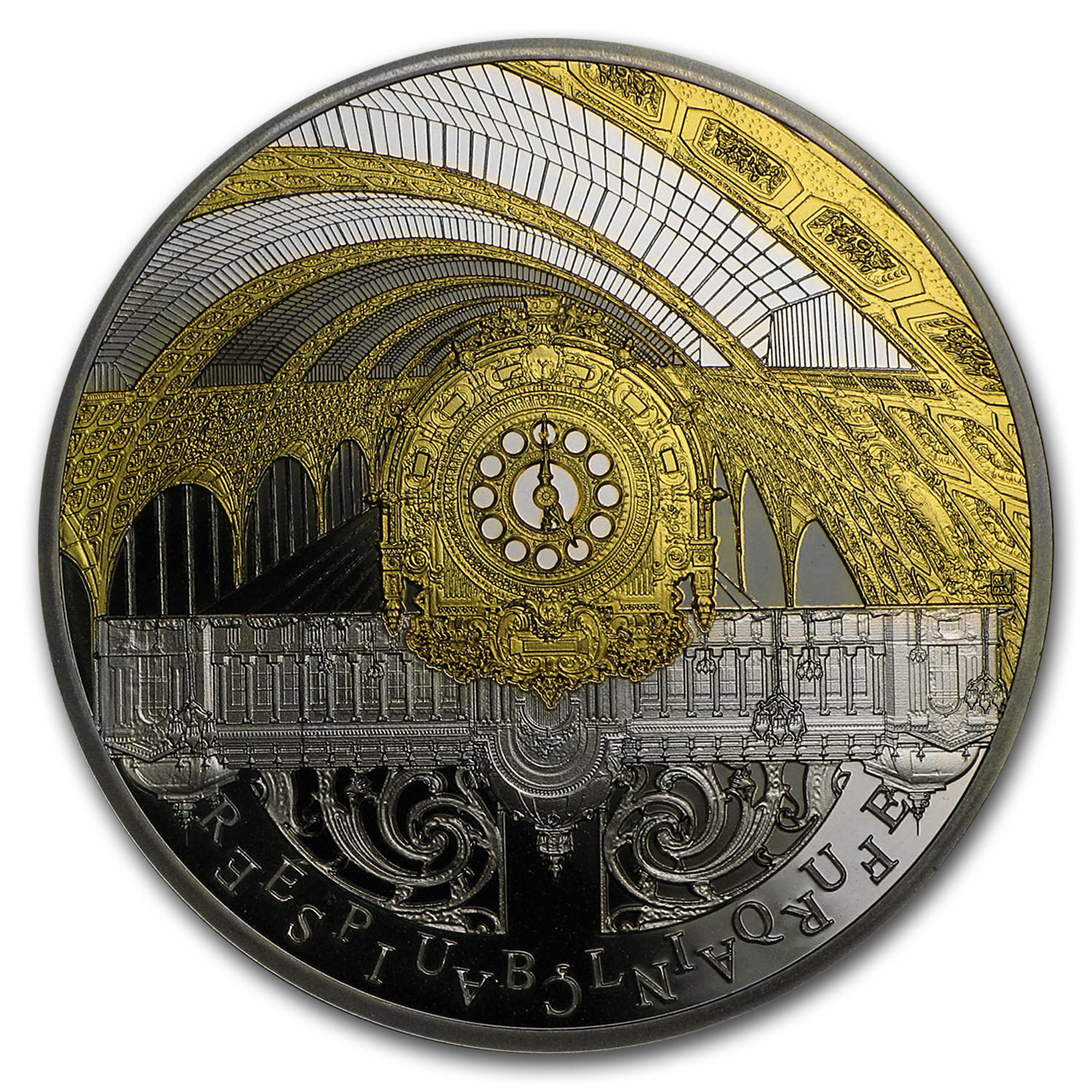 2016 France Silver €10 UNESCO (Orsay and the Petit Palais)