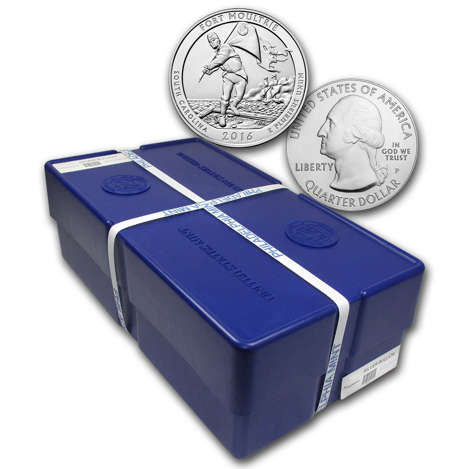 2016 5 oz Silver ATB Fort Moultrie Park (Sealed Monster Box)
