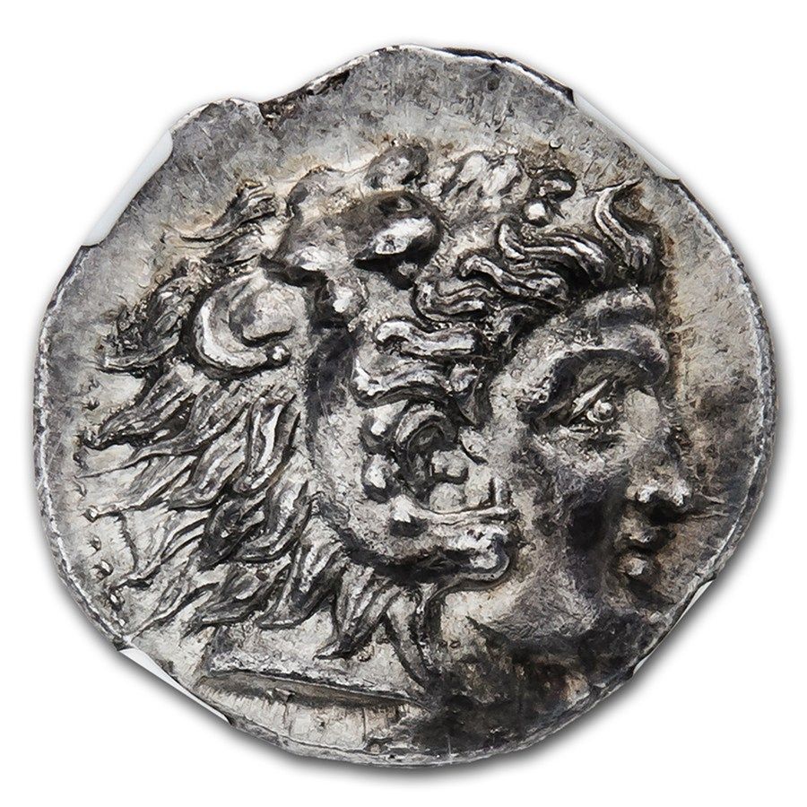 Macedonian Tetradrachm Alexander Iii 336 323 Bc Ms Ngc