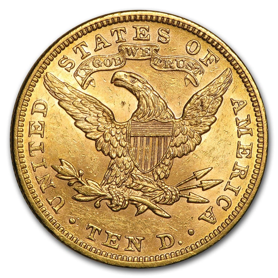 $10 Liberty Gold Eagle BU (Random Year)