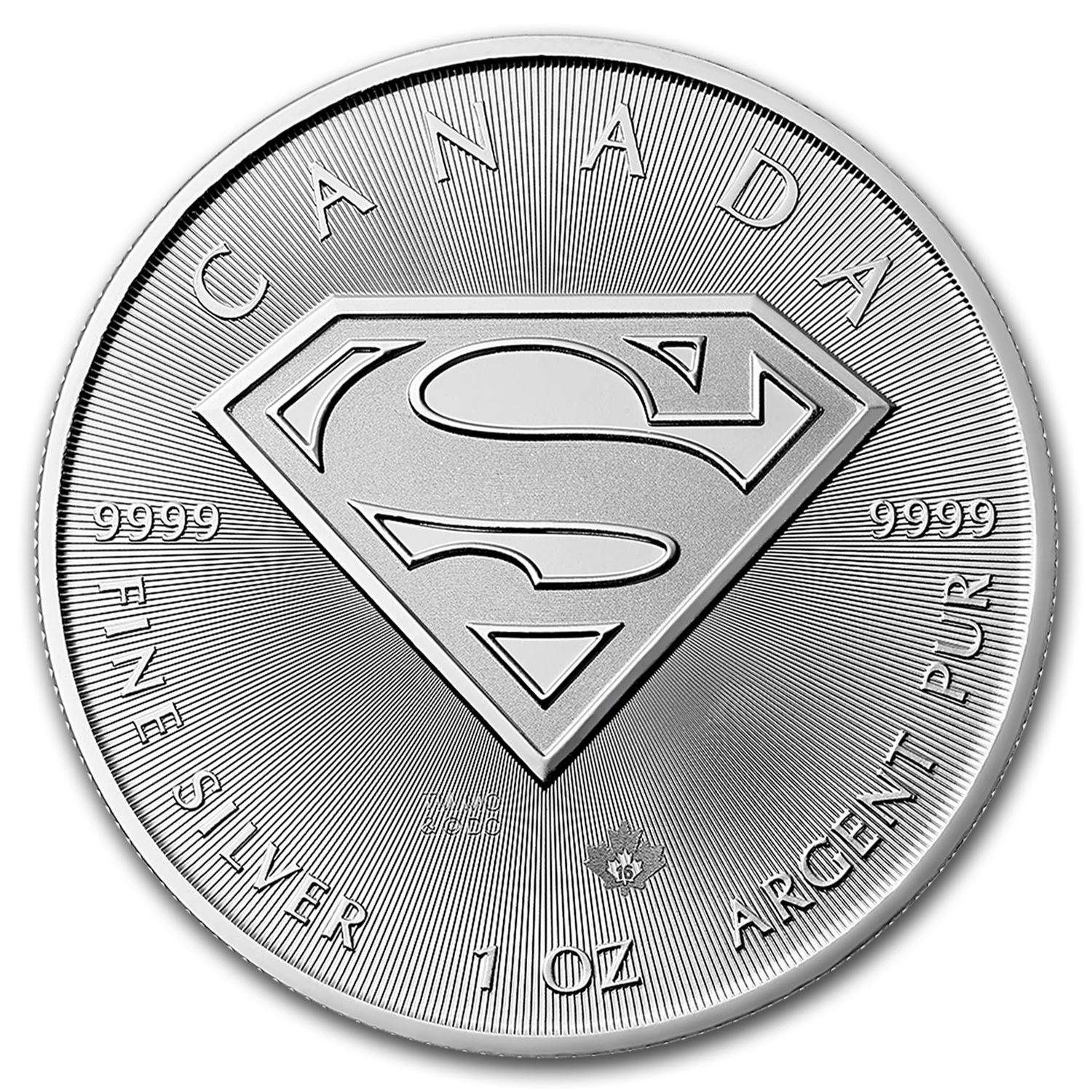 2016 RCM 500-Coin 1 oz Silver SUPERMAN™ BU Monster Box (Sealed)
