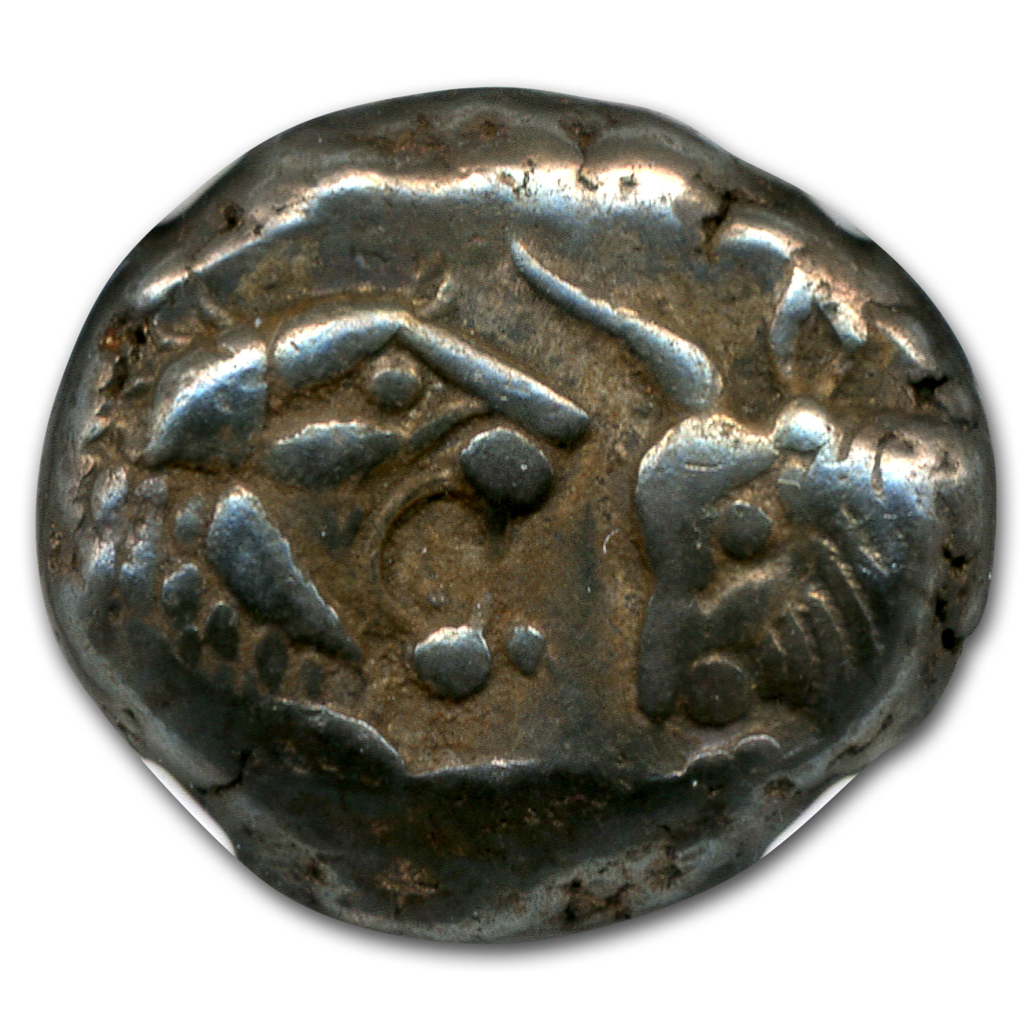 Lydian AR Silver Half-Stater Ch VF NGC (after 561 BC)