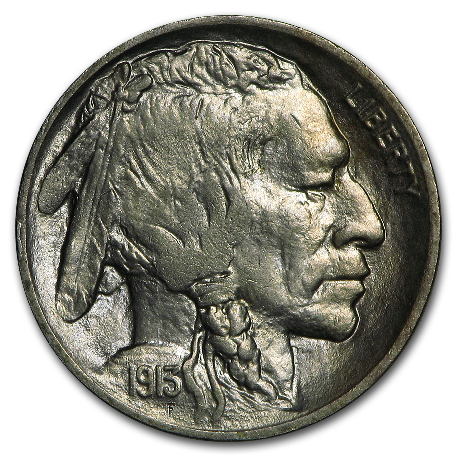 1913 Type Ii Buffalo Nickel Choice Bu Buffalo Nickels