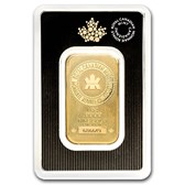 1 oz Gold Bar - Royal Canadian Mint (New Style, In Assay)