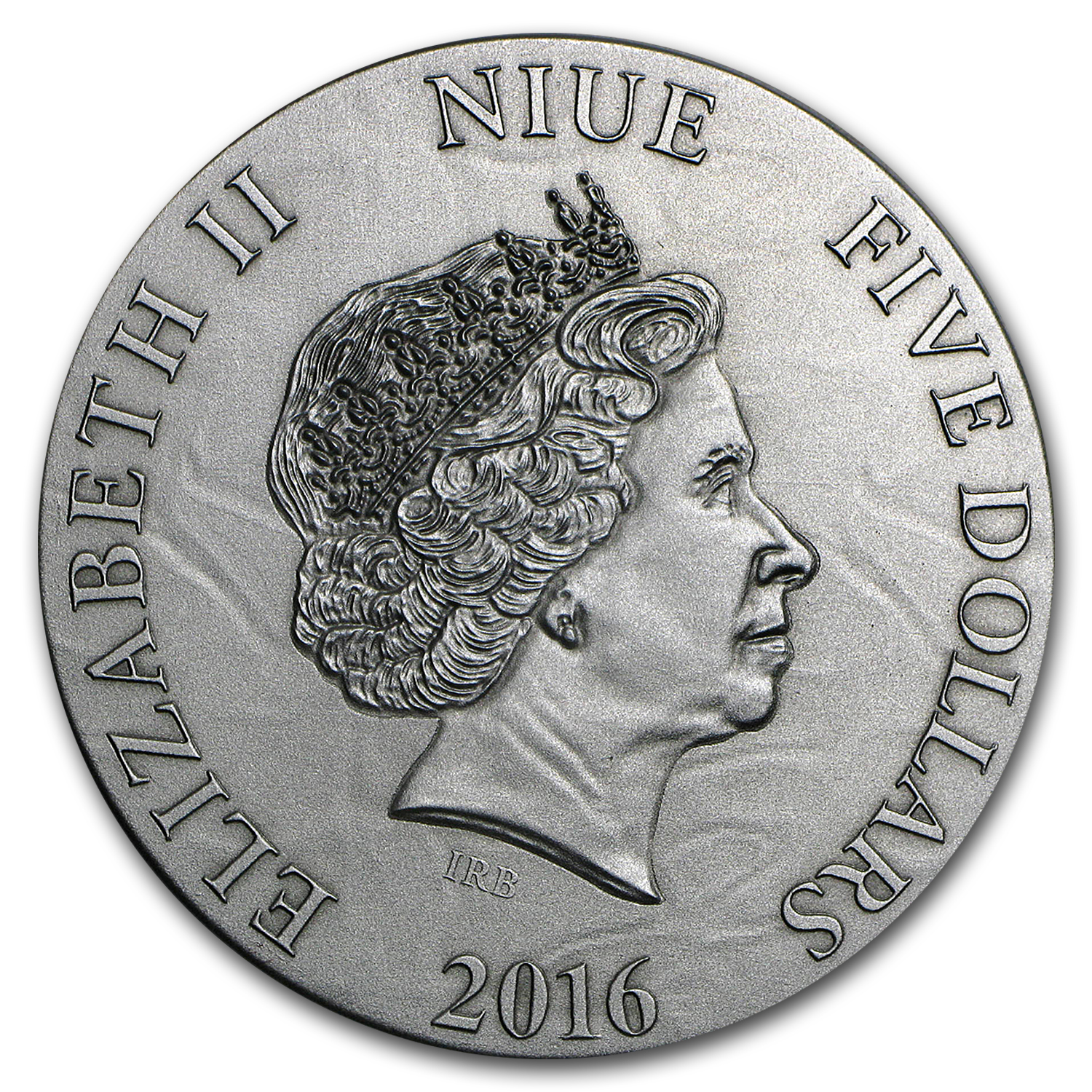 2016 Niue 2 oz Silver $5 The Choir of Angels Metatron