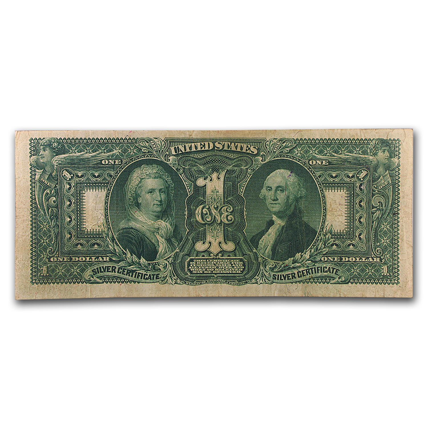 1896 $1.00 Silver Certificate Educational Note VF-25 PMG