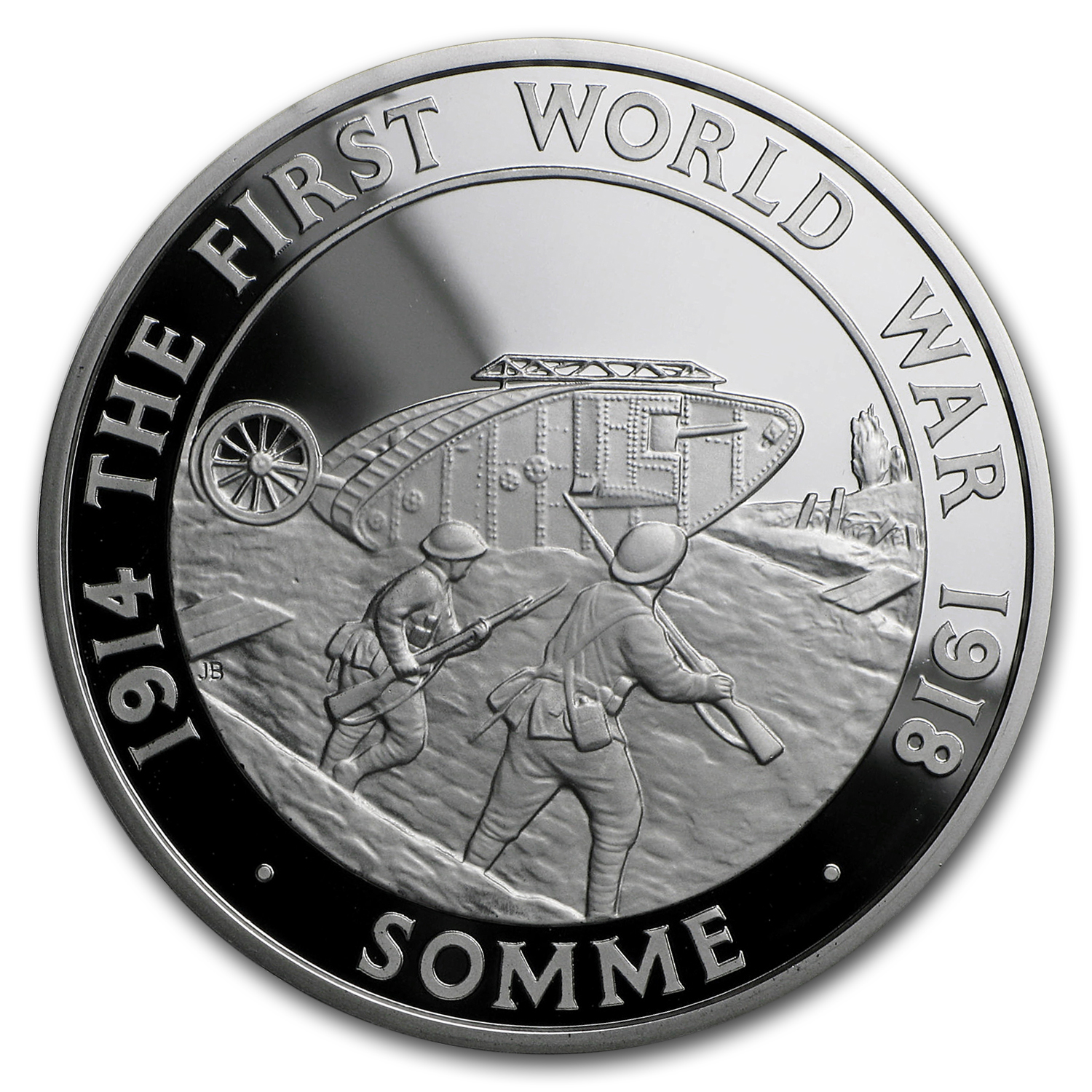 2016 Great Britain £5 Silver First Battle of The Somme Proof