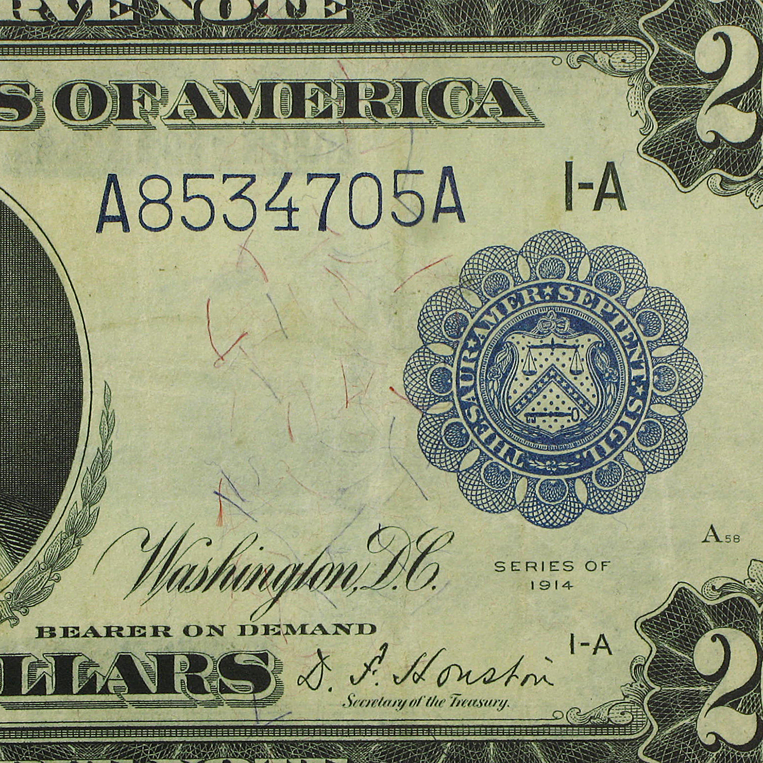 1914 (A-Boston) $20 FRN VF (FR#966)