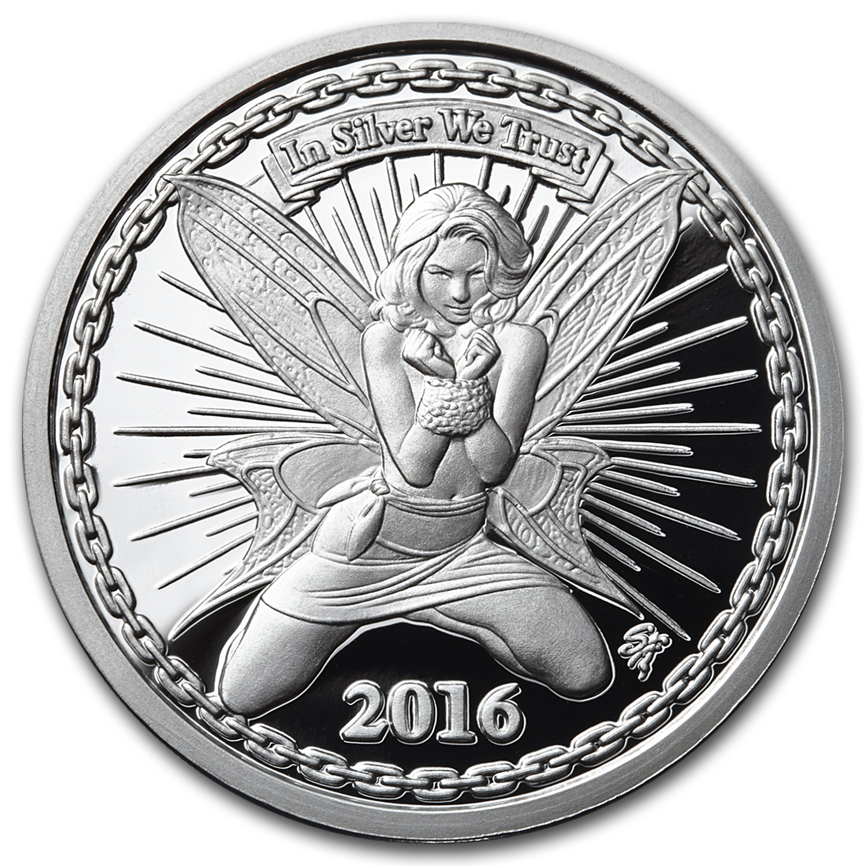 Buy 1 Oz Silverbugs Silver Rounds Reddit Fairy Alyx Apmex