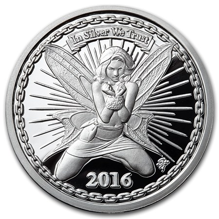 Buy 1 Oz Silverbugs Silver Rounds Reddit Fairy Alyx Apmex