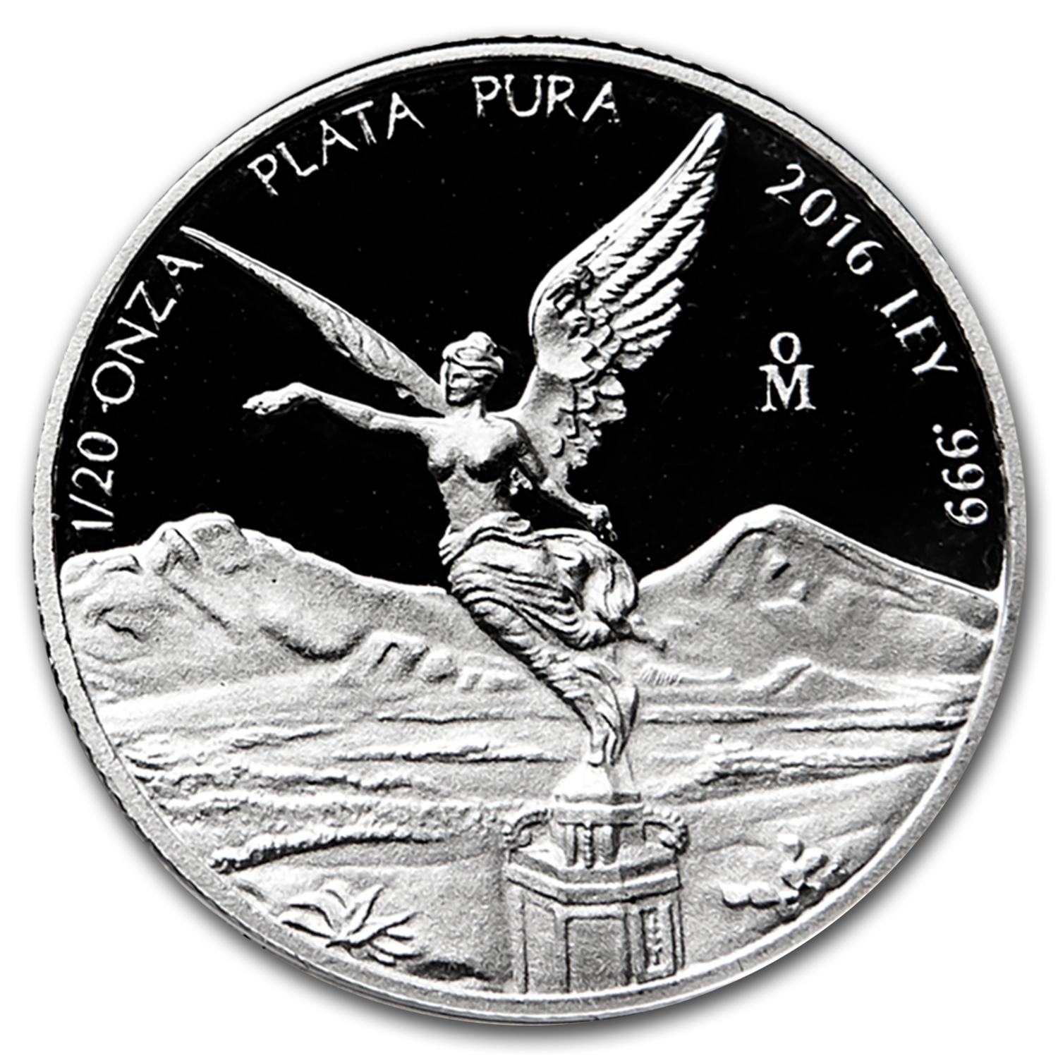 2016 Mexico 1/20 oz Silver Libertad Proof (In Capsule)