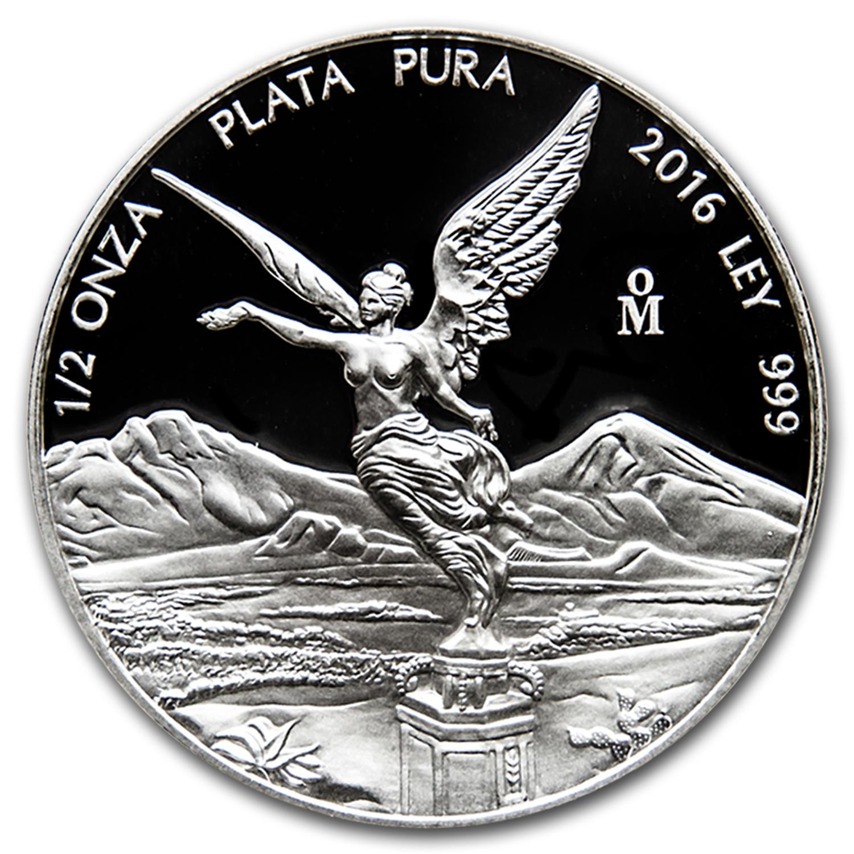2016 Mexico 1 2 Oz Silver Libertad Proof In Capsule