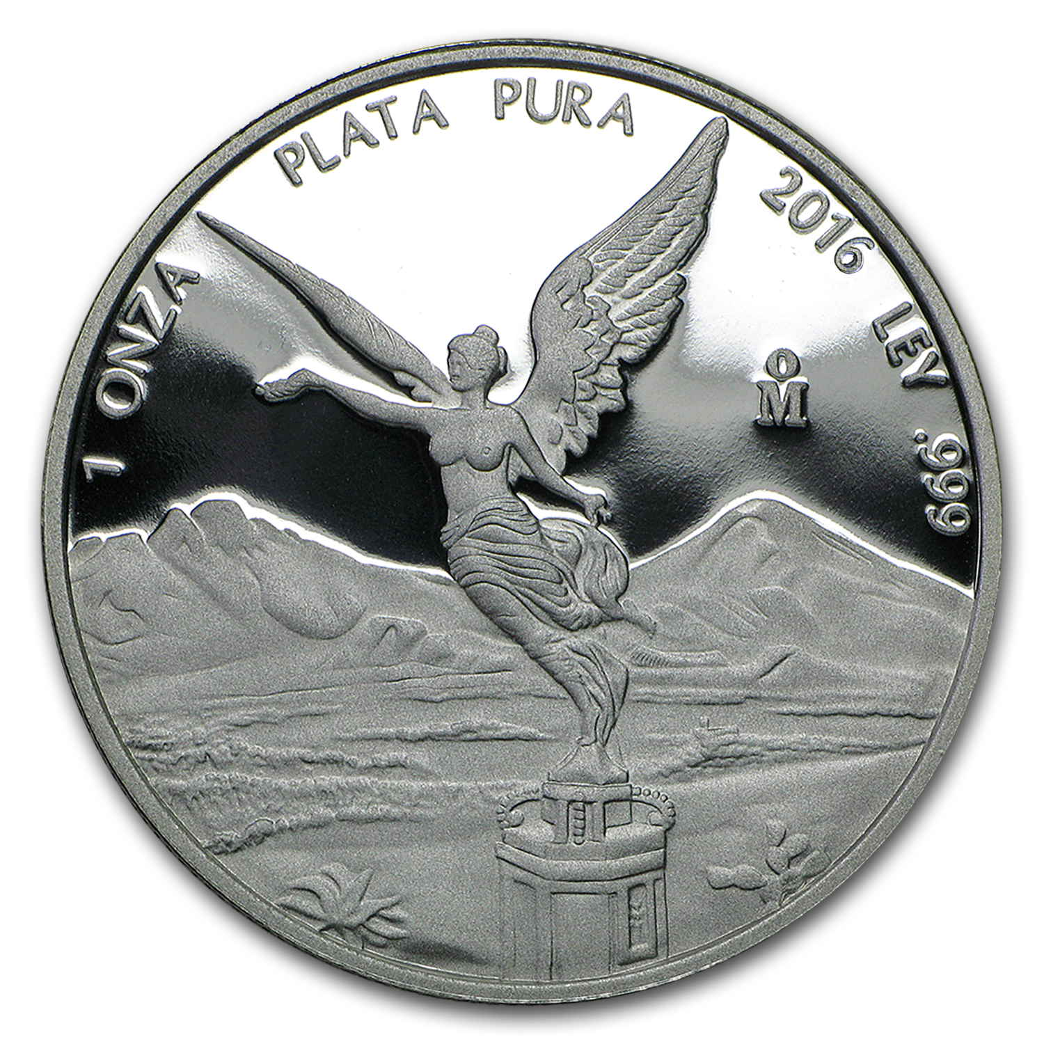 2016 Silver Libertad Proof Coin Mexican 1 Oz Silver