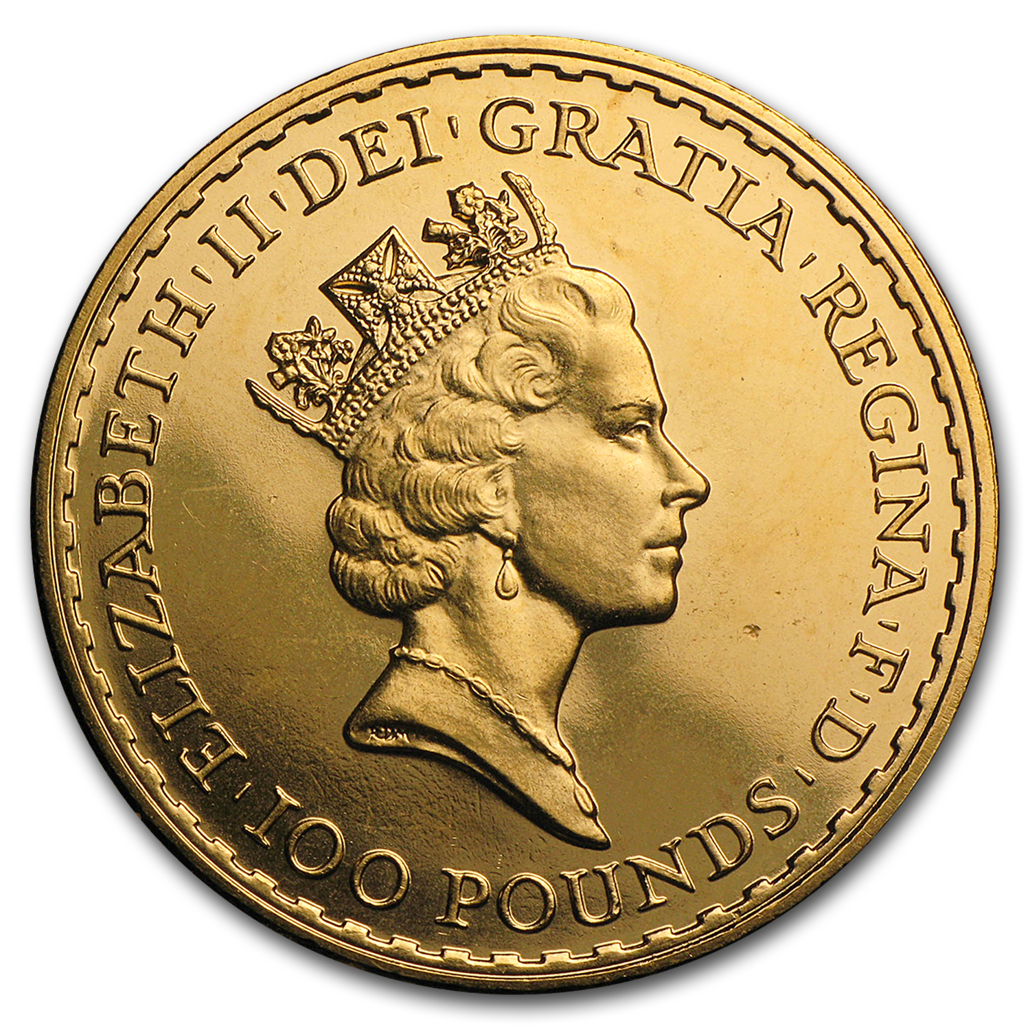 1993 Great Britain 1 oz Gold Britannia BU