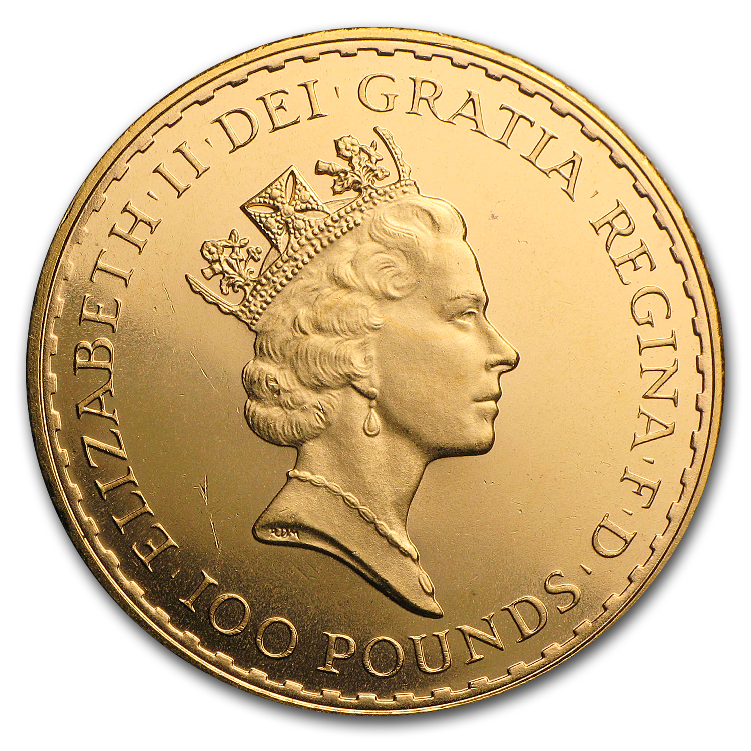 1989 Great Britain 1 oz Gold Britannia BU