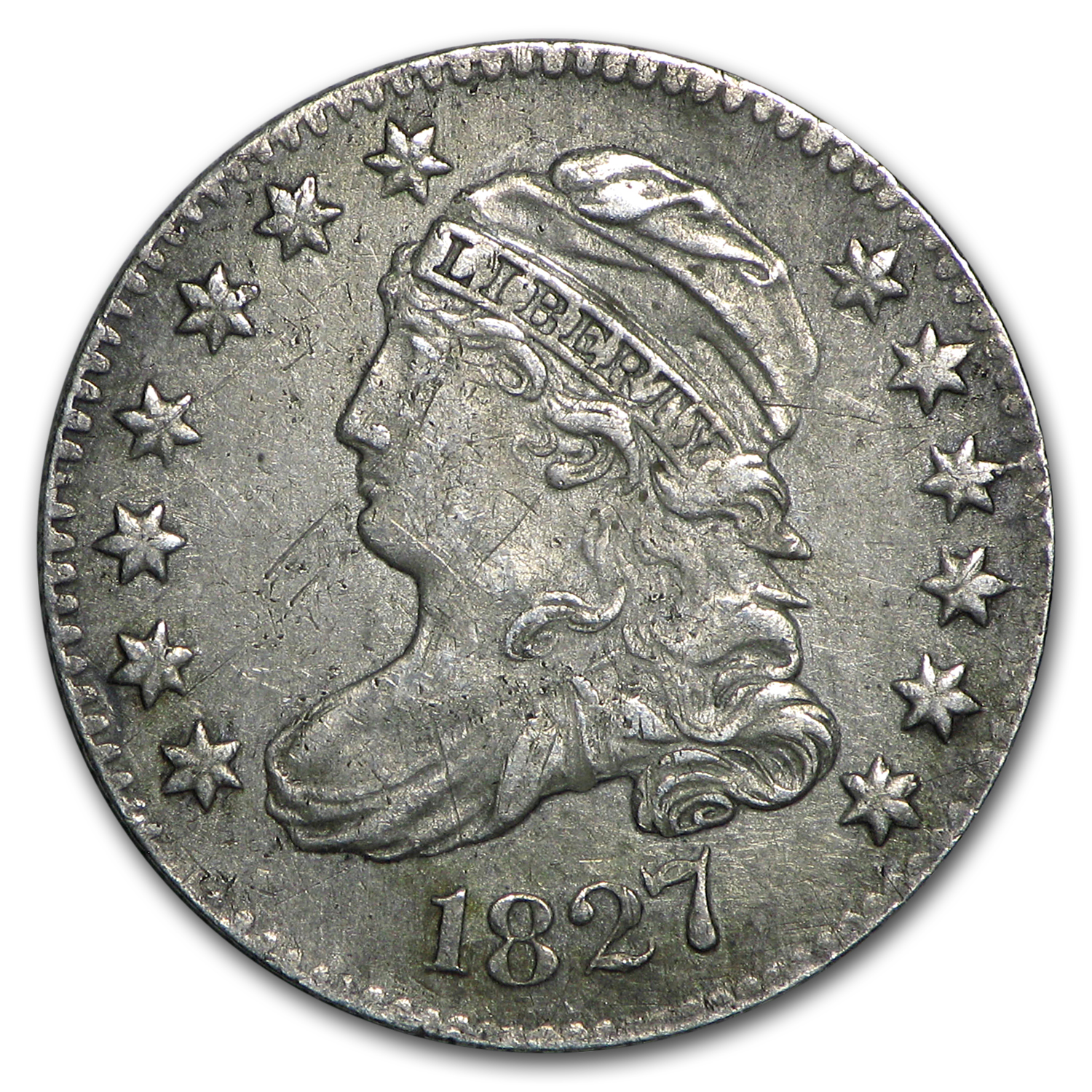 1827 Capped Bust Dime XF