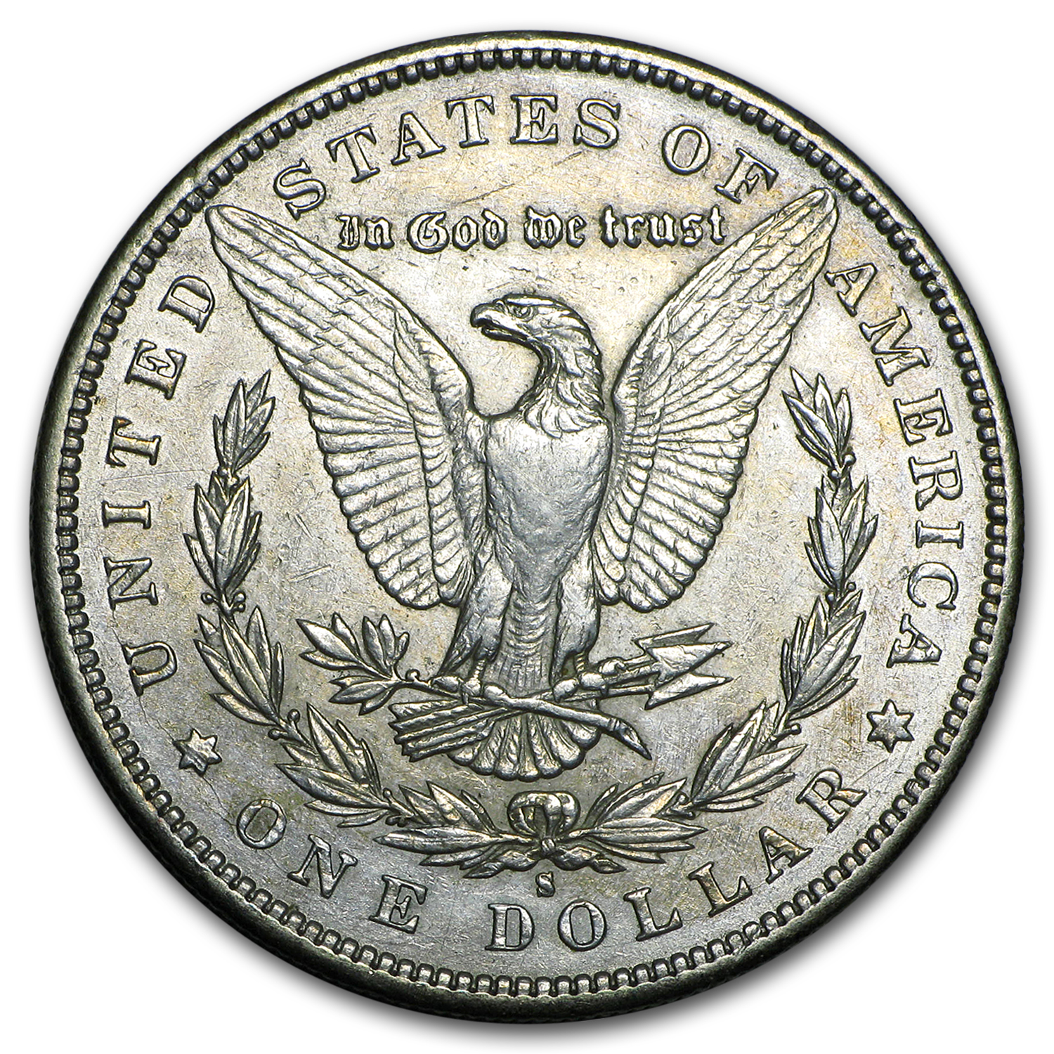 1896-S Morgan Dollar XF-45
