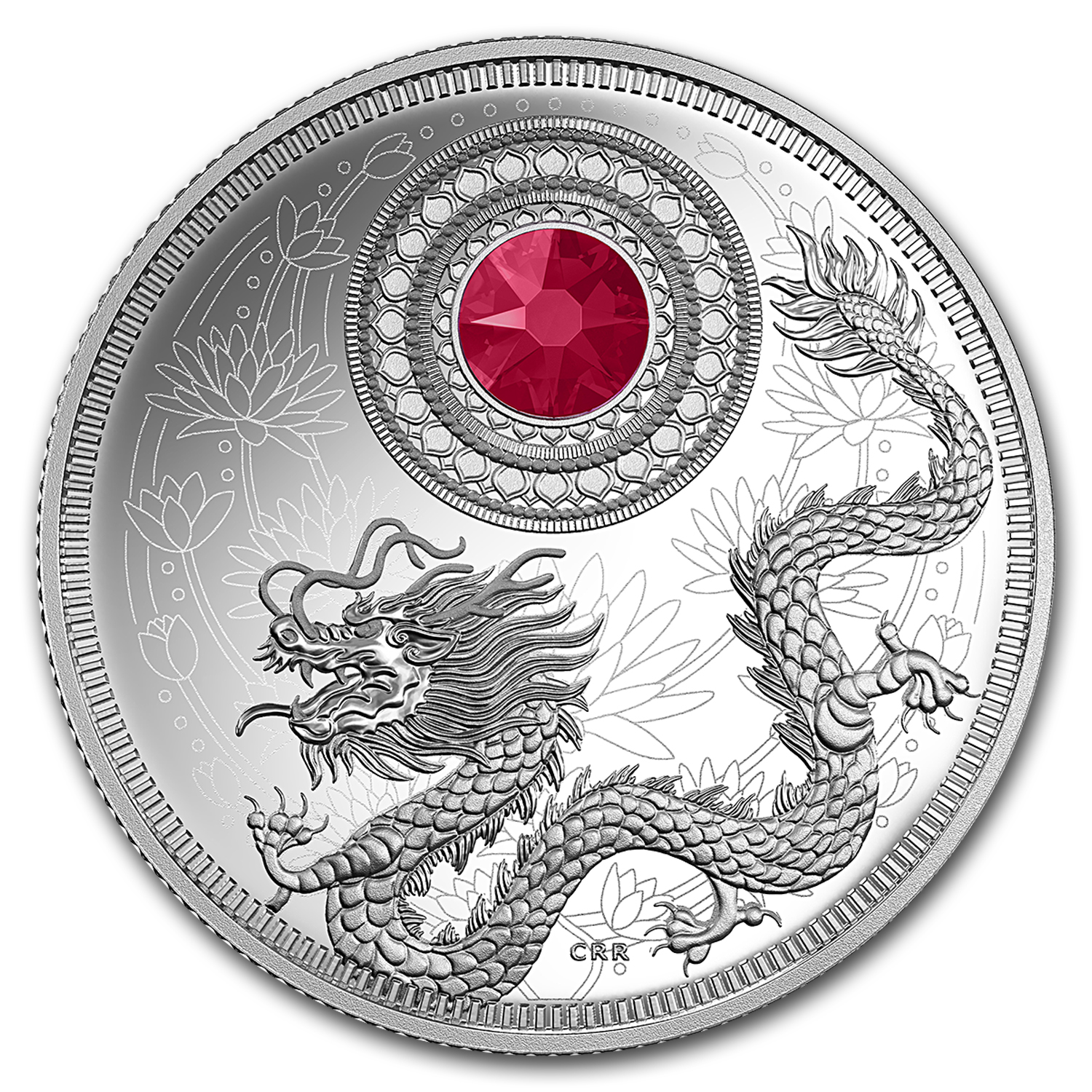 2016 Canada 1/4 oz Silver $5 Birthstones (July)