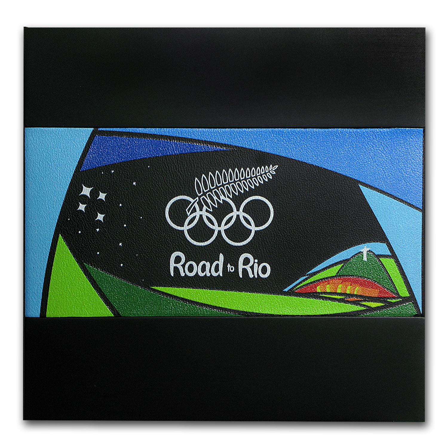 2016 New Zealand 1 oz Silver $1 Road to Rio Olympic Coin