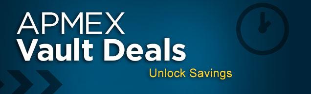 APMEX Vault Deals