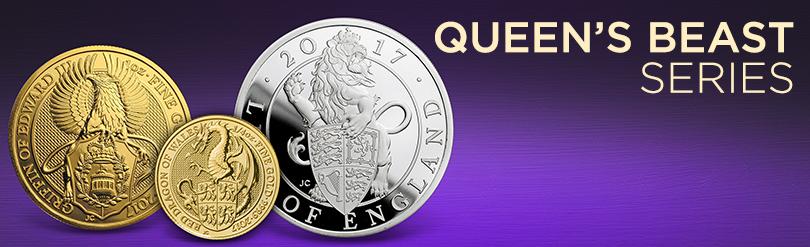 Queen's Beasts Series Coins