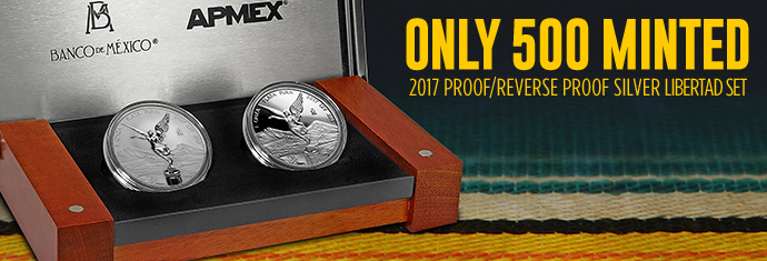 2017 Proof/Reverse Proof Silver Libertad Set
