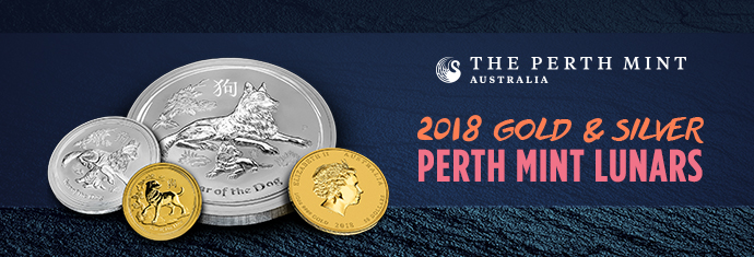 2018 Gold and Silver Perth Mint Lunars