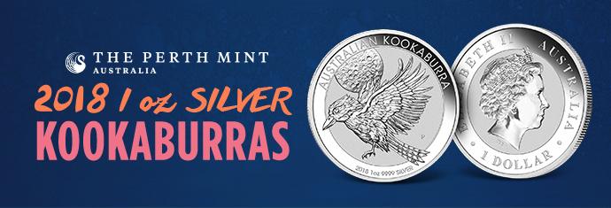2018 1 Ounce Silver Kookaburras