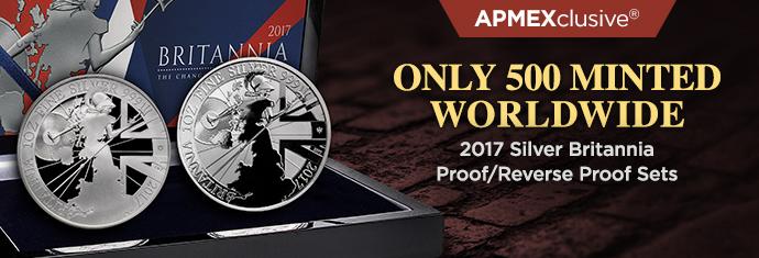 2017 Silver Britannia Proof/Reverse Proof Sets