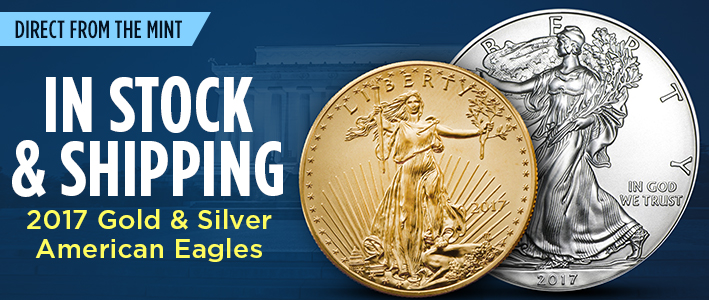 2017 Gold & Silver American Eagles