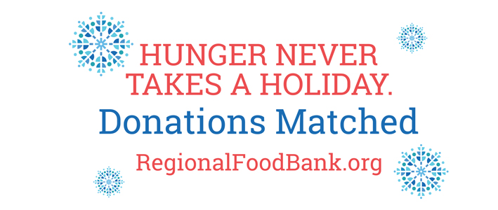 Regional Food Bank of Oklahoma - Donations Matched