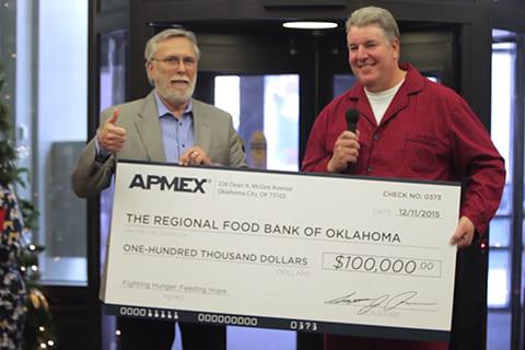 APMEX Food Bank Donation