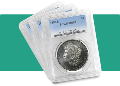 pcgs graded coins