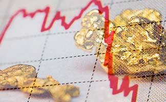 Bonds Rise, Gold Tanks