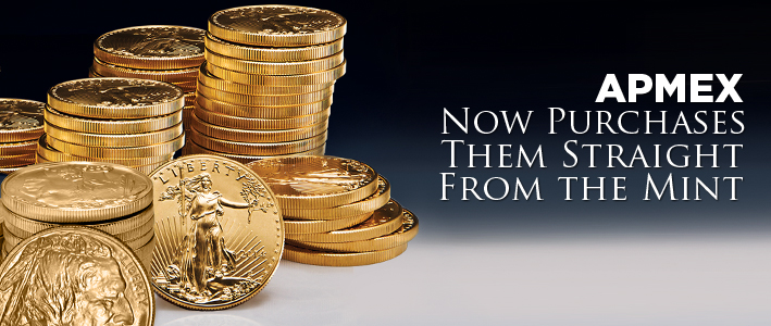 apmex becomes authorized Gold purchaser from united states mint