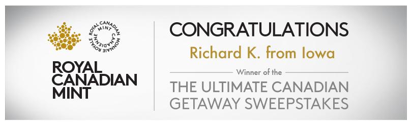 the ultimate canadian getaway sweepstakes winner
