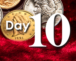 Day 10 of APMEX's 12 Days of Christmas!