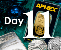 Day 11 of APMEX's 12 Days of Christmas!