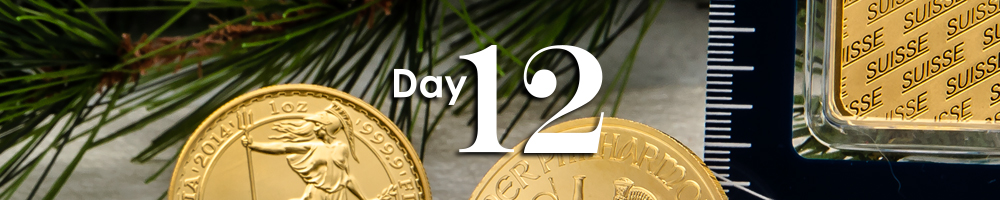 Day 12 of APMEX's 12 Days of Christmas!